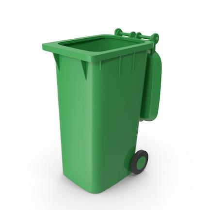 Trash Dumpster Open