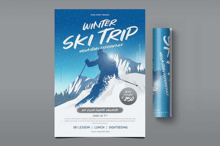 Cover Image For Winter Ski Flyer