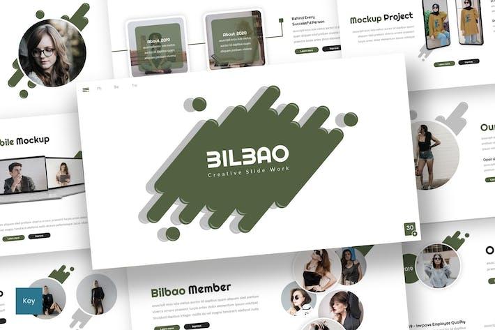 Thumbnail for Bilbao - Creative Keynote Template