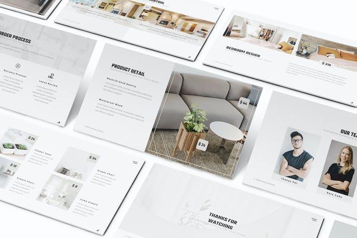 Thumbnail for Furniture Google Slides Presentation Template