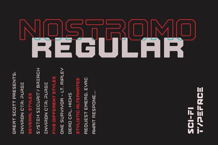 Thumbnail for Nostromo Régulier