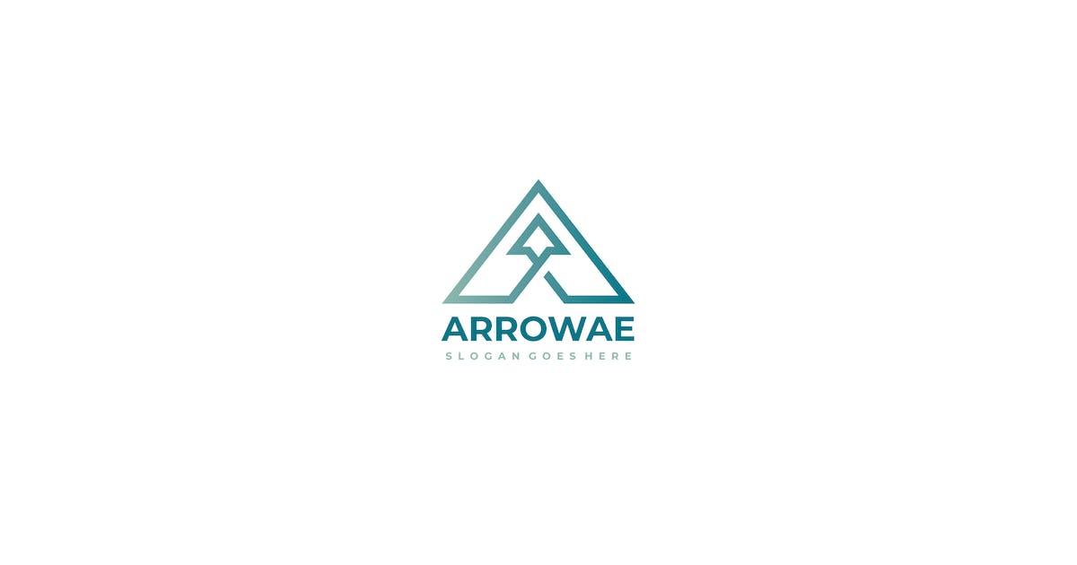Download Arrowae Arrow A Letter Logo Design by 3ab2ou