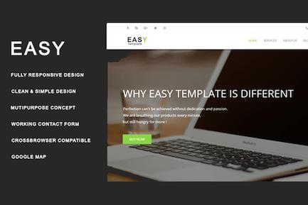 Easy Template - Multiuse HTML Template