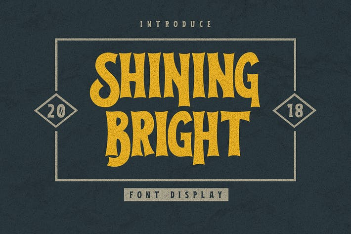 Thumbnail for Shining Bright Typeface