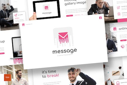 Message - Powerpoint Template
