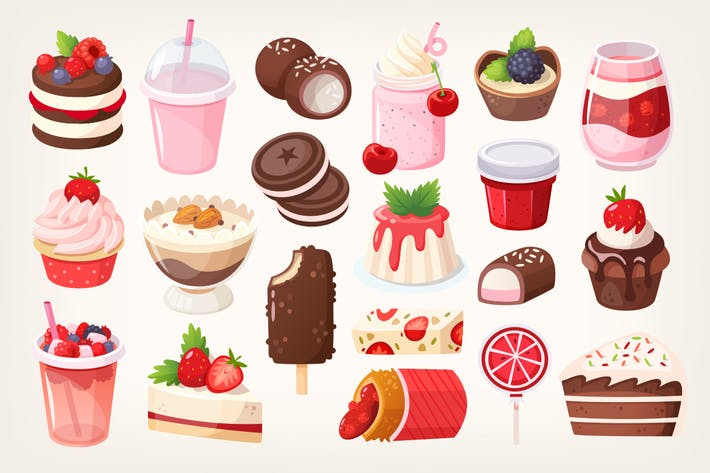Thumbnail for Fruit and chocolate desserts. Part 1