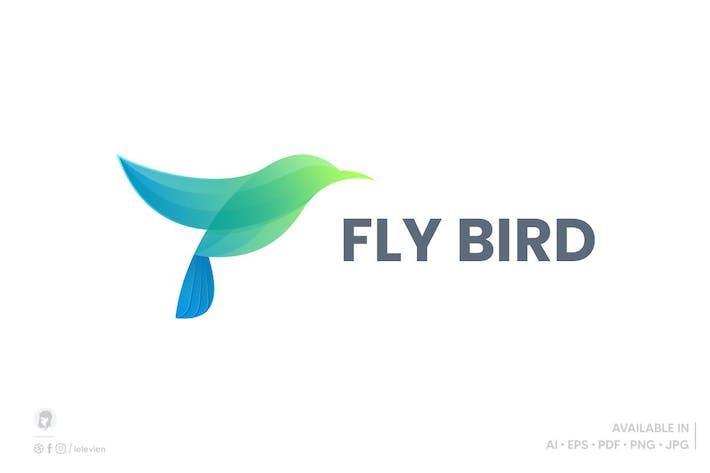 Thumbnail for Fly Bird logo template