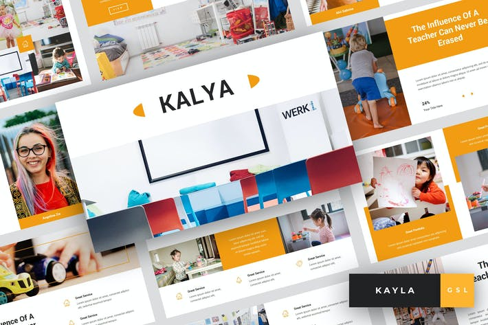 Thumbnail for Kayla - Kindergarten Google Slides Template