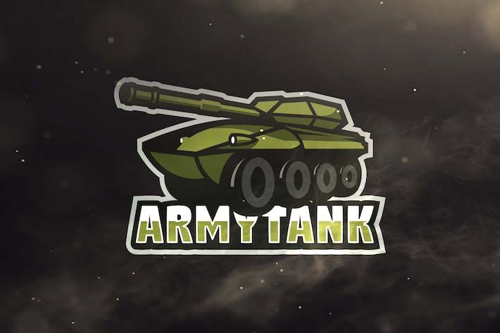 Thumbnail for Army Tank Sport and Esports Logos