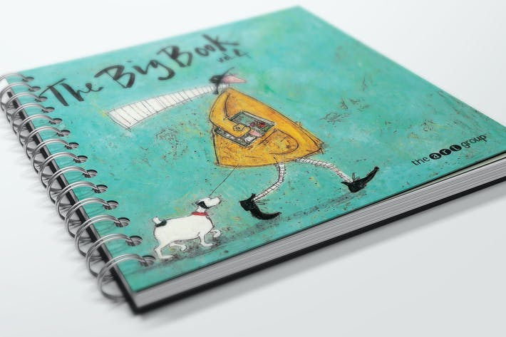 Thumbnail for Spiral Bound Book / Catalogue Mockups 3