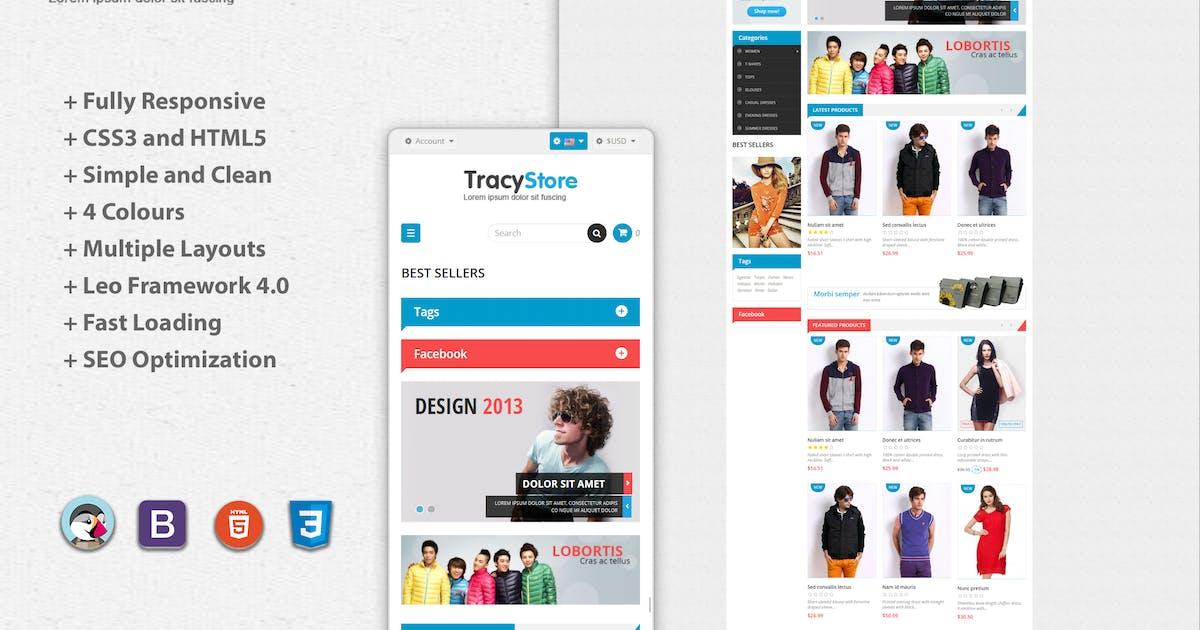 Download Leo Tracy Minimal Fashion Prestashop Theme by leo-theme