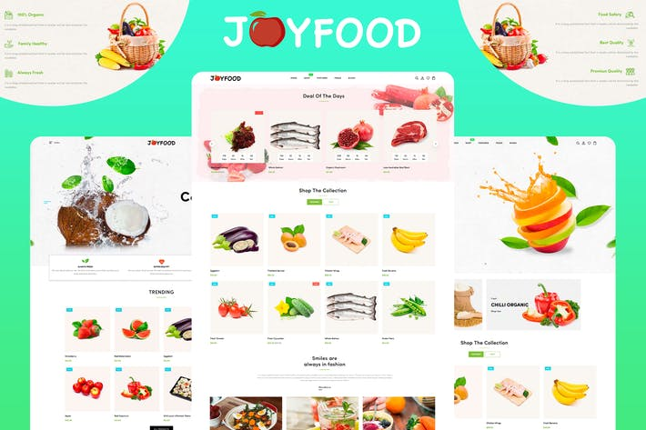 Thumbnail for JoyFood - Thème Shopify épicerie supermarché