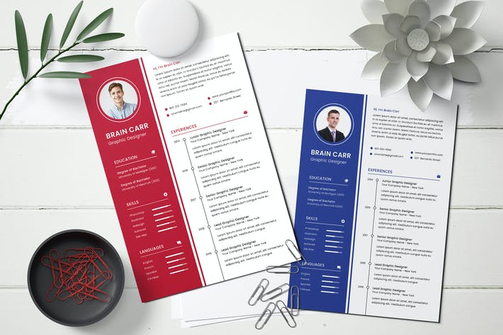 Thumbnail for CV Resume Template