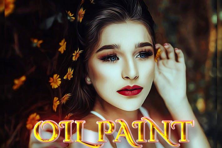 Oil Piant Photoshop Action