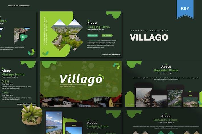 Thumbnail for Villago   Шаблон Keynote