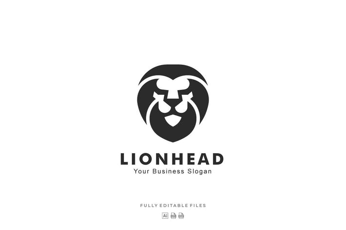 Thumbnail for Lion Head Mascot Logo