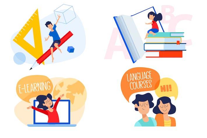 Bildungs Illustrationen