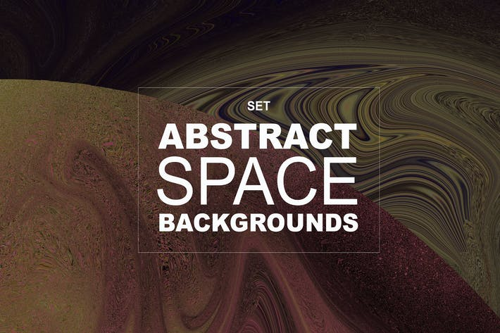 Cover Image For 18 Abstract Space Backgrounds