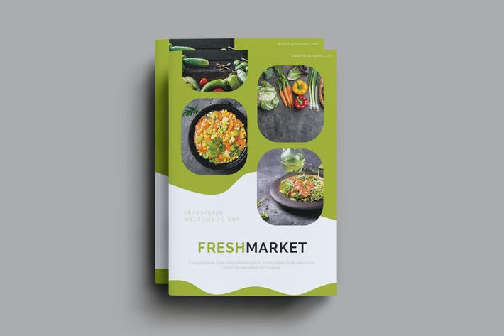 Thumbnail for Freshmarket Brochure Template