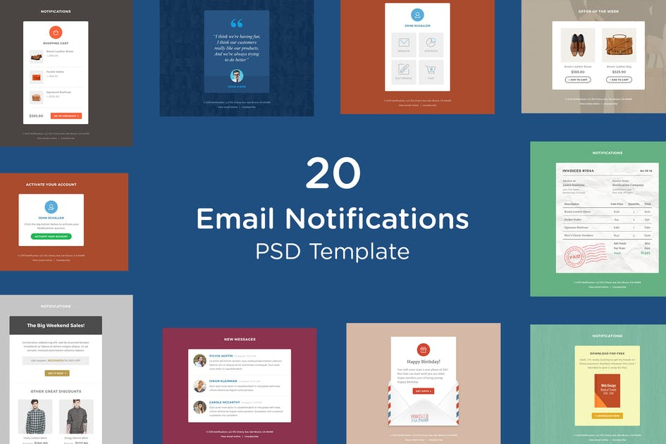 Download Email Notifications by HyperPix