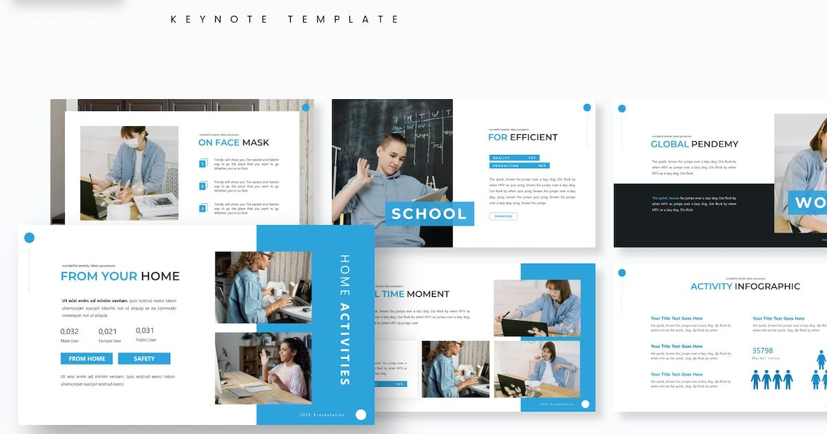 Download Bluez - Keynote Template by aqrstudio