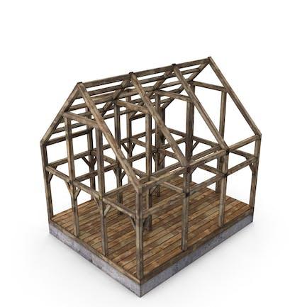 Holzrahmen-Hausbau