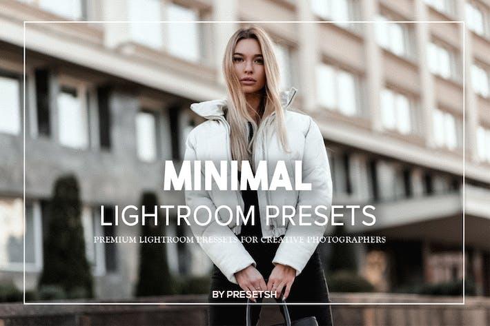 Thumbnail for Minimal Lightroom Presets