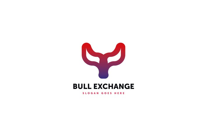 Thumbnail for Bull Exchange Logo Template