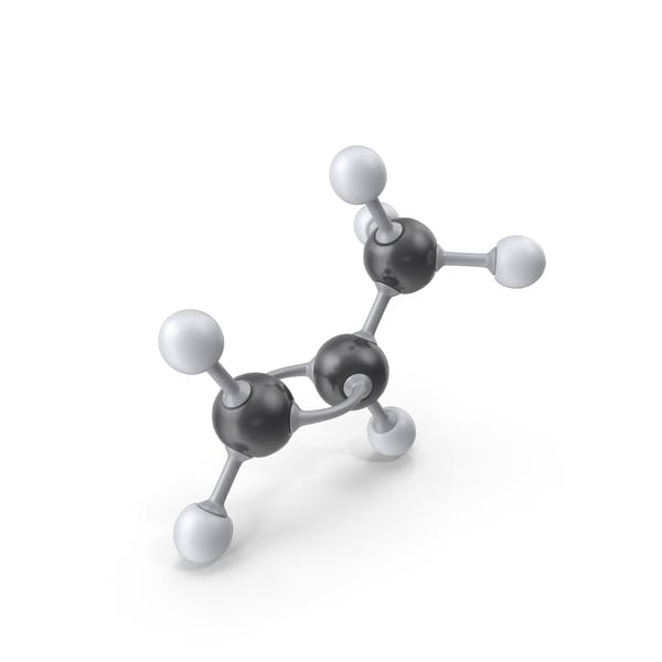 Cover Image for Propene Molecule