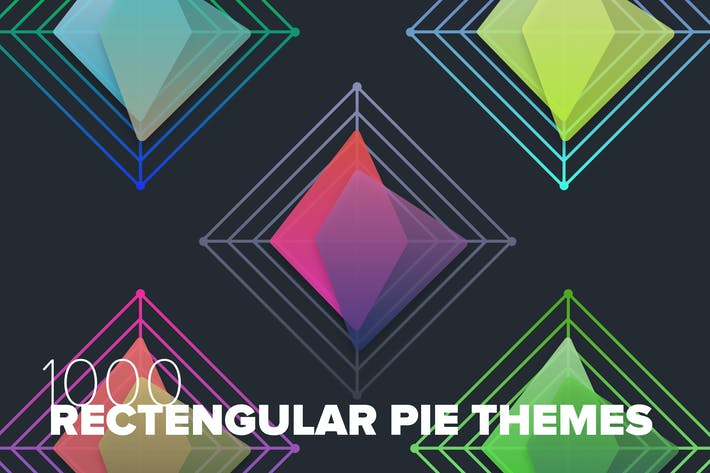 Thumbnail for 1000 Rectangular Pie Graphs