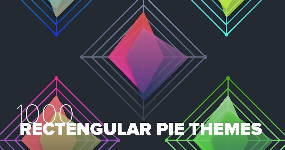 Download 1000 Rectangular Pie Graphs by cerpow