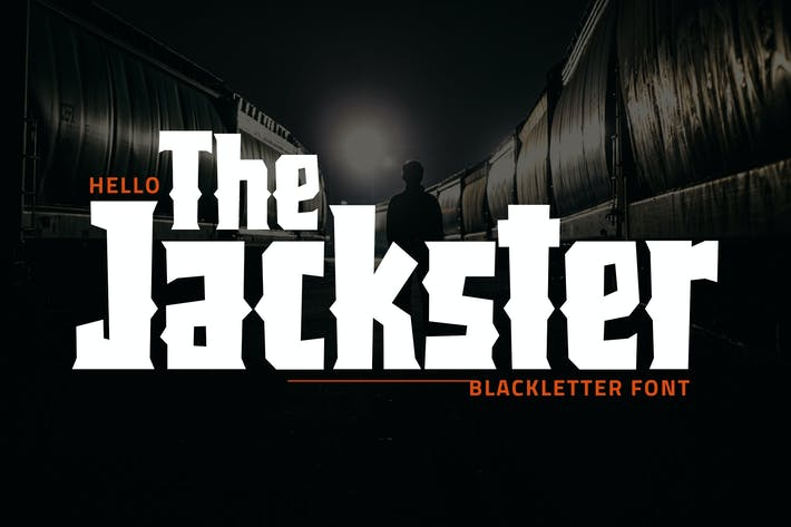 Thumbnail for Jackster - Blackletter Font