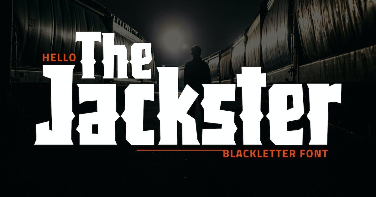 Download Jackster - Blackletter Font by weapedesign