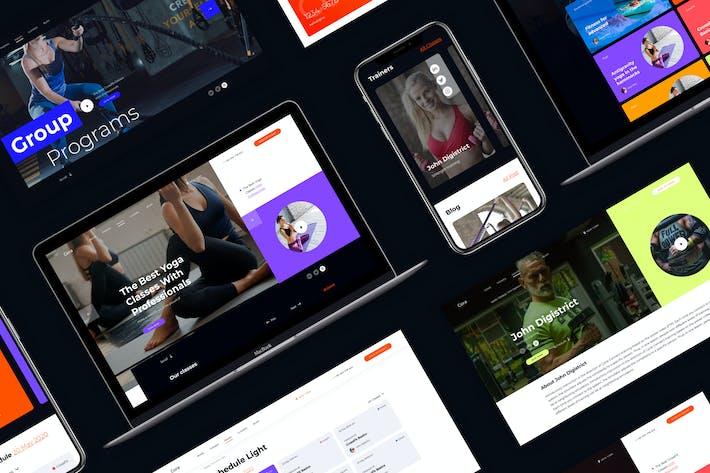 Cora | Responsive Sport Clubs HTML Template