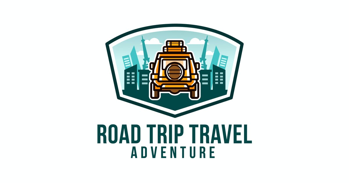 Download Road Trip Travel Logo Template by IanMikraz