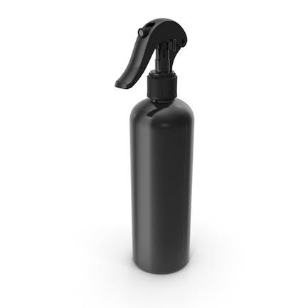 _Botella_Spray Negro_Reutilizable_300\_ml