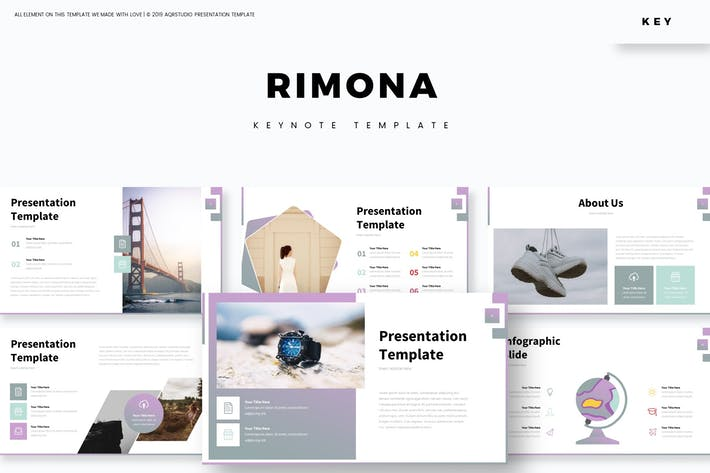 Cover Image For Rimona - Keynote Template
