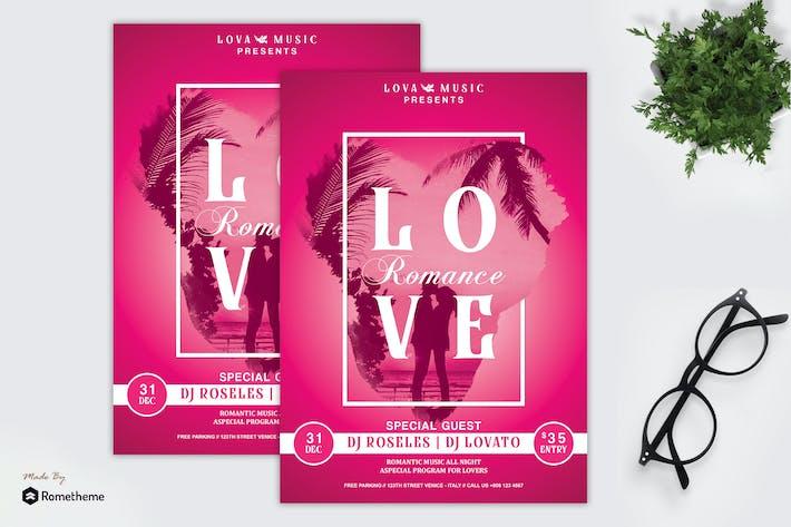 Thumbnail for Lova - Song of Love Music Flyer HR