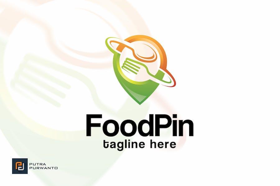 Food Pin - Logovorlage