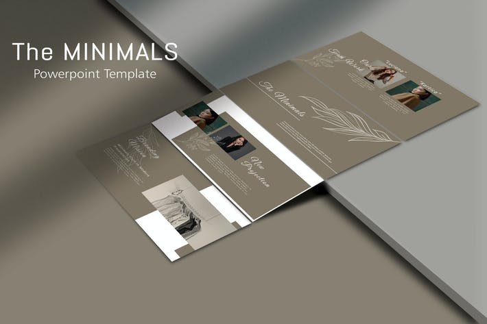 THE MINIMALS - Powerpoint Template