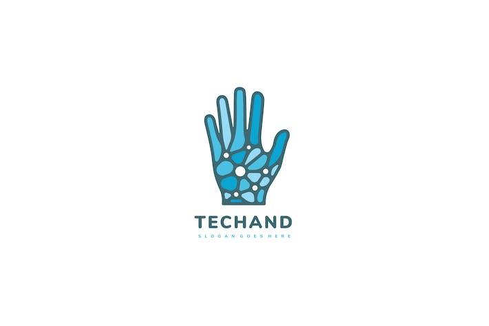 Thumbnail for Technology Hand Logo