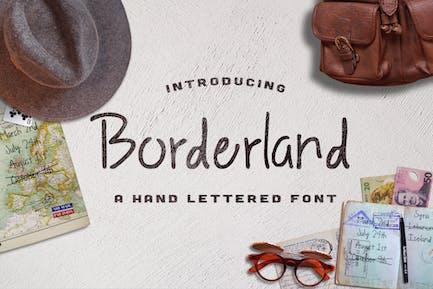 Tipo de letra Borderland