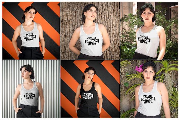 Women's Tank Top Mockups
