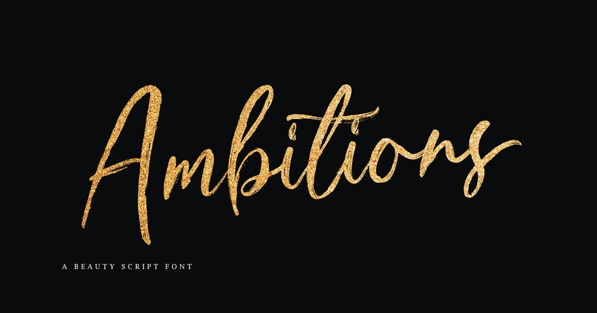 Download Ambitions Font by Siwox