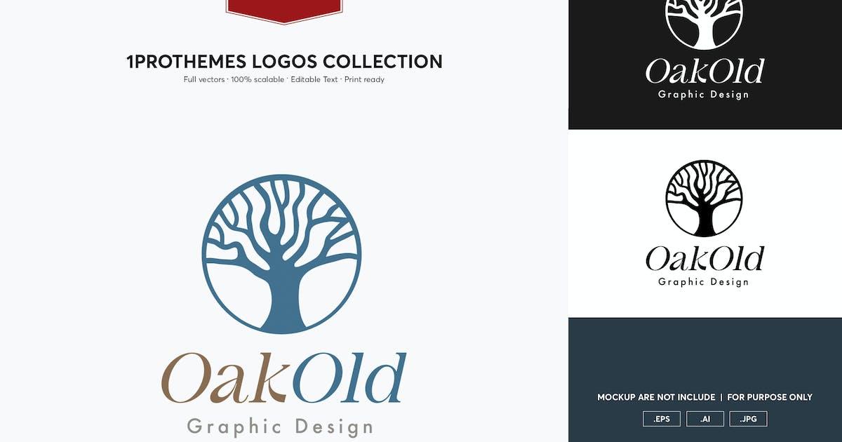 Download Oak Old Logo Template by 1protheme