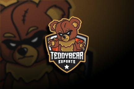 Teddy Bear Esports - Mascot & Esport Logo