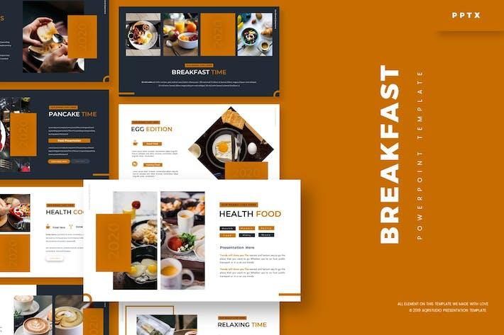 BreakFast — Шаблон Powerpoint