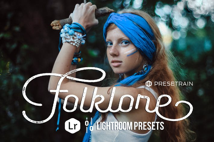 Cover Image For Folklore Lightroom Presets