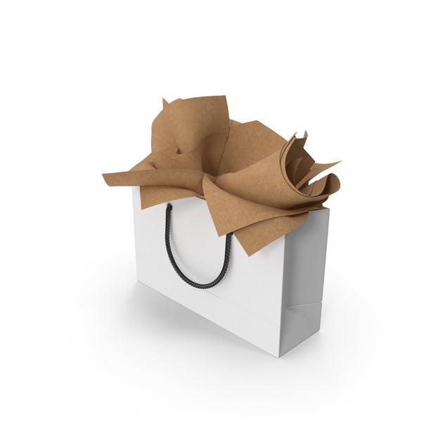 Сумка для покупок с подарочной бумагой Craft