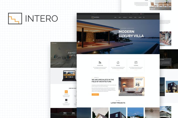 Thumbnail for Intero | Architecture and Interior Business